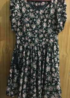 Preloved Zara Floral Dress