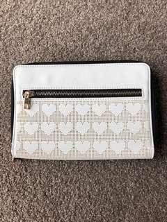 Forever new white travel wallet brand new