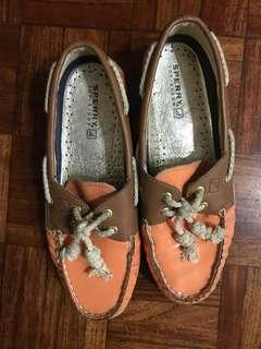 Sperry Boat Shoes Peach