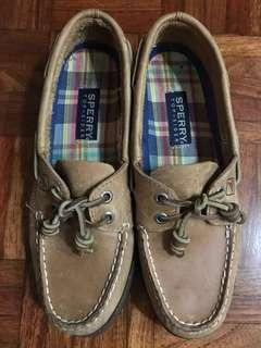 Sperry Boat Shoes Sahara Brown