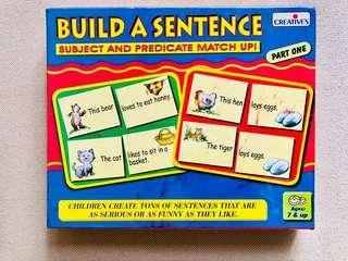 Build A Sentence - Subject and Predicate Match Up!