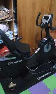 商業用電磁控臥式健身車