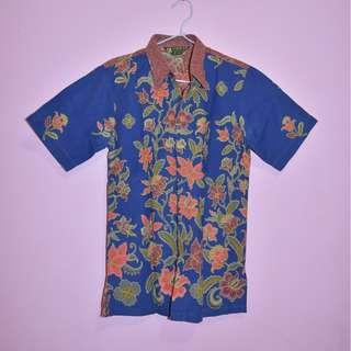 FIRMAN Two Tone Basic Batik Shirt