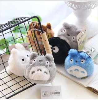 Totoro key rings set