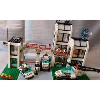 Lego 6398 Police station 警署