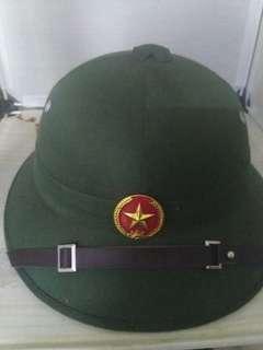 Vietcong pith helmet replica