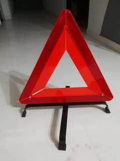 Emergency breakdown warning sign