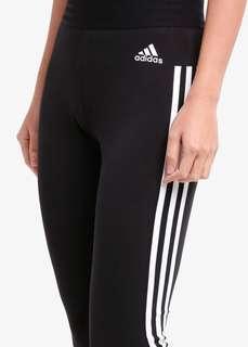 authentic adidas 3 striped leggings