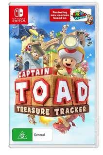 Toad treasure tracker