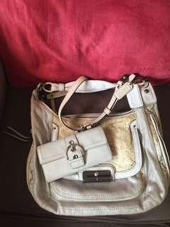 Bundling tas dan dompet Coach original