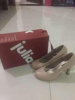Sepatu high heels julia'r + box HARGA ASLI MASIH TERTERA