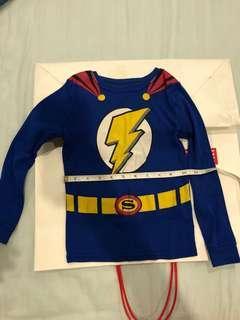 Flash superhero long sleeve top