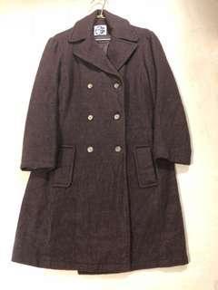 🚚 山形屋毛料長大衣