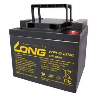 Long 12V 50AH SLA Battery for Electric Power Scooter