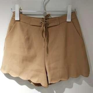 (免費送出)女裝駱駝色短褲 (giveaway for free) ladies' shorts, camel color