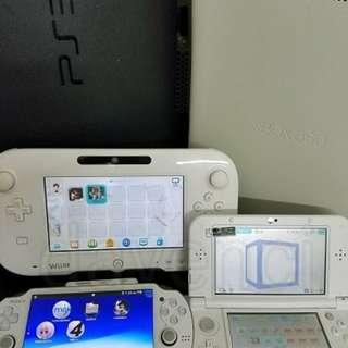 3ds switch PS3 wiiu 維修JB