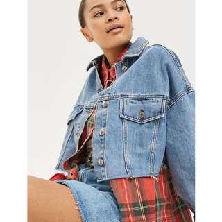 NEW Cropped Moto Jacket from TopShop