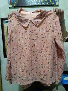Blouse Motif Flashy