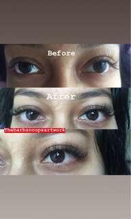 5D eyelash extension