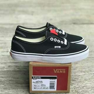 ORIGINAL Vans Authentic Classic Black White