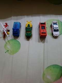 Hot Wheels City 5 Pack Cars - Rescue Racers 5