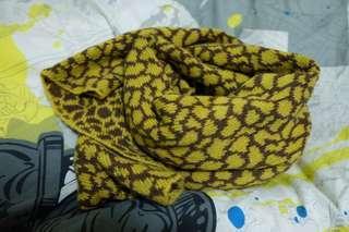 長頸鹿紋圍巾