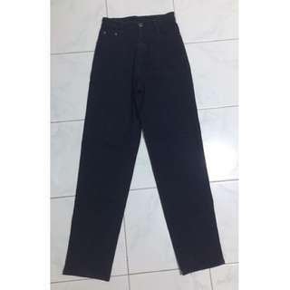HW pants dark blue