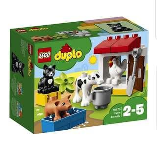 LEGO Duplo Town farm animal 10870
