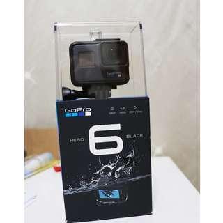 【賠售】9/17購買的 GoPro 6 單機組,非常非常新