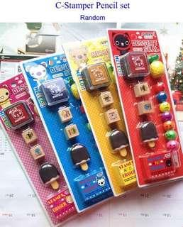 🚚 Stamper stationery set/Stapler stationery set