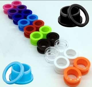 Coloured Ear Stretcher / Tunnel