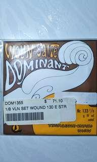 Thomastik Dominant 1/8 Violin String Set