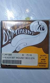 Thomastik Dominant 1/16 Violin String Set