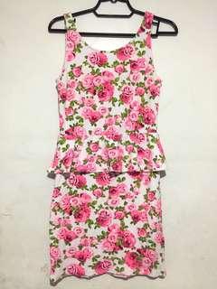 Divided H&M pink dress