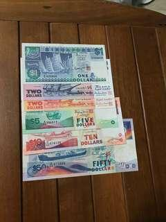 Ship Series Note $1 - $50