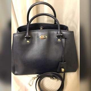 Coach Satchel midnight Black