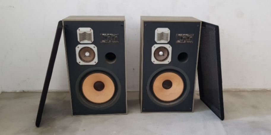 Akai 1970's sw-157 ii speaker for parts restore repair japan made hifi  amplifier amp