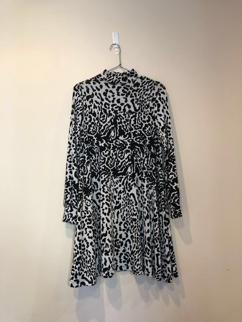 ASOS high neck dress