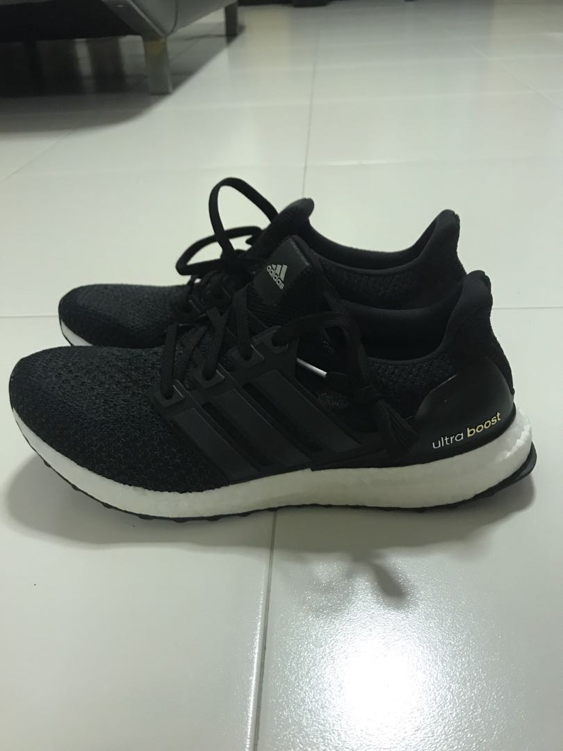 5b4936122 AUTHENTIC AND BRAND NEW Adidas Ultra Boost 2.0 BLACK, Men's Fashion ...