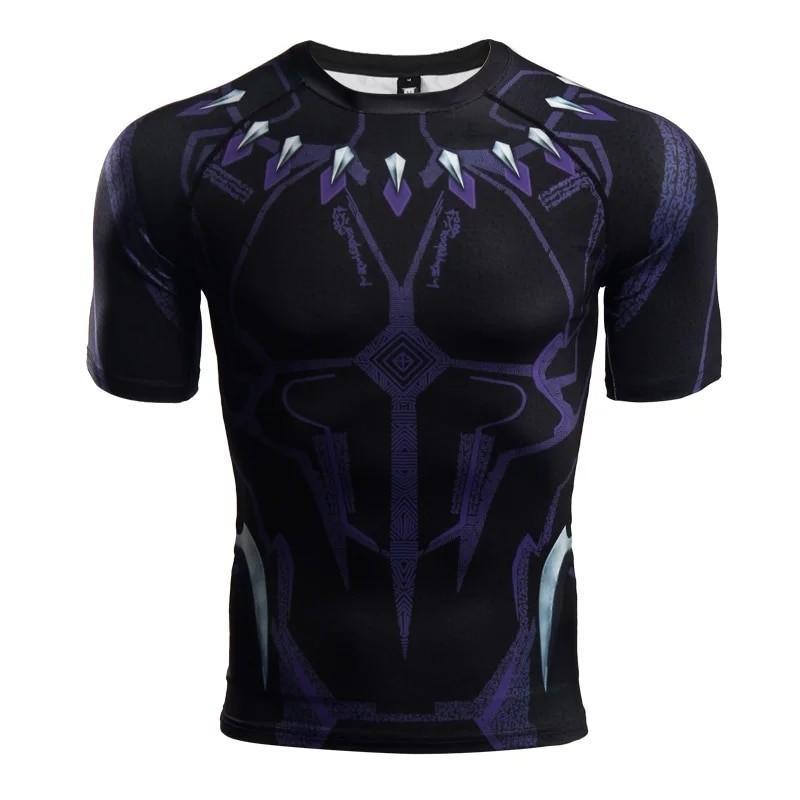Fondos Mínimo Cuota  Black Panther (Purple) Compression Shirt (Short Sleeve), Men's Fashion,  Clothes, Tops on Carousell