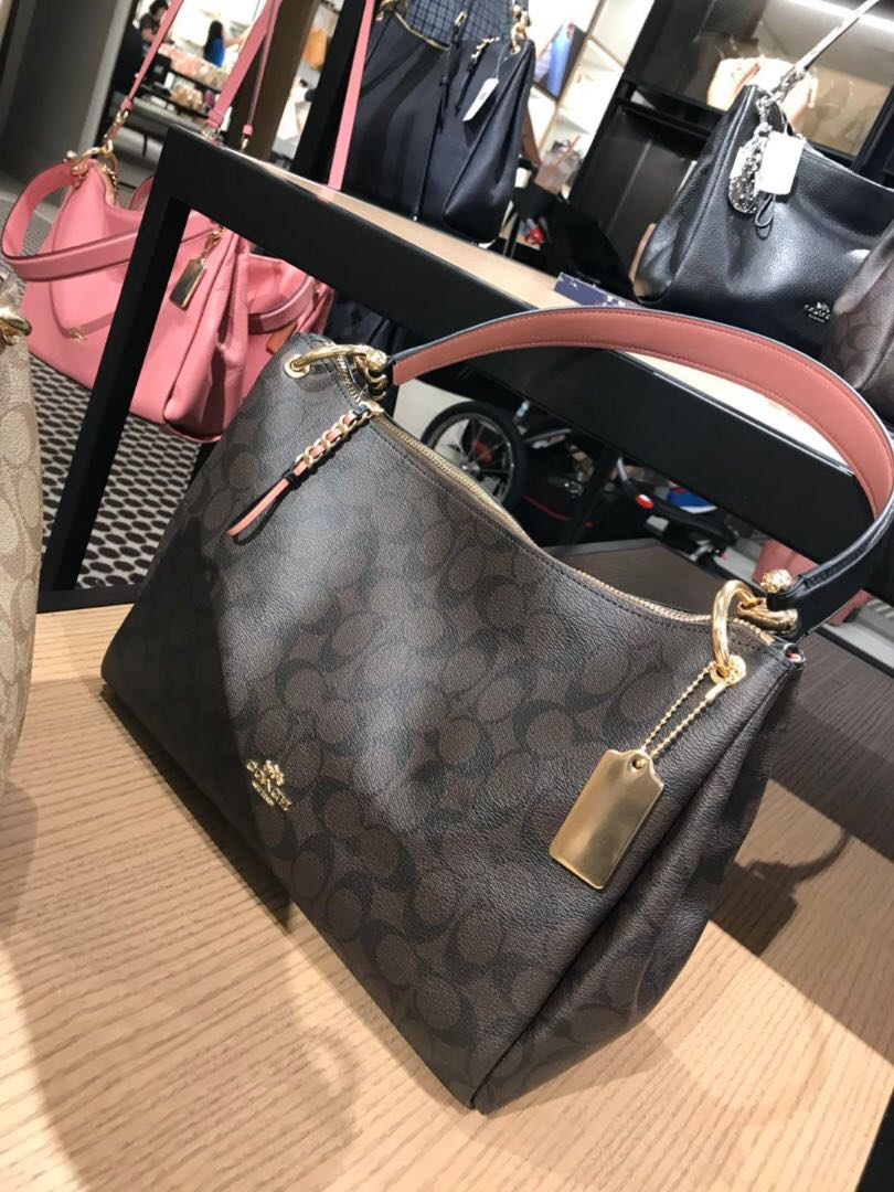 224b3a6d7eb1 Coach Mia Shoulder Bag in Signature