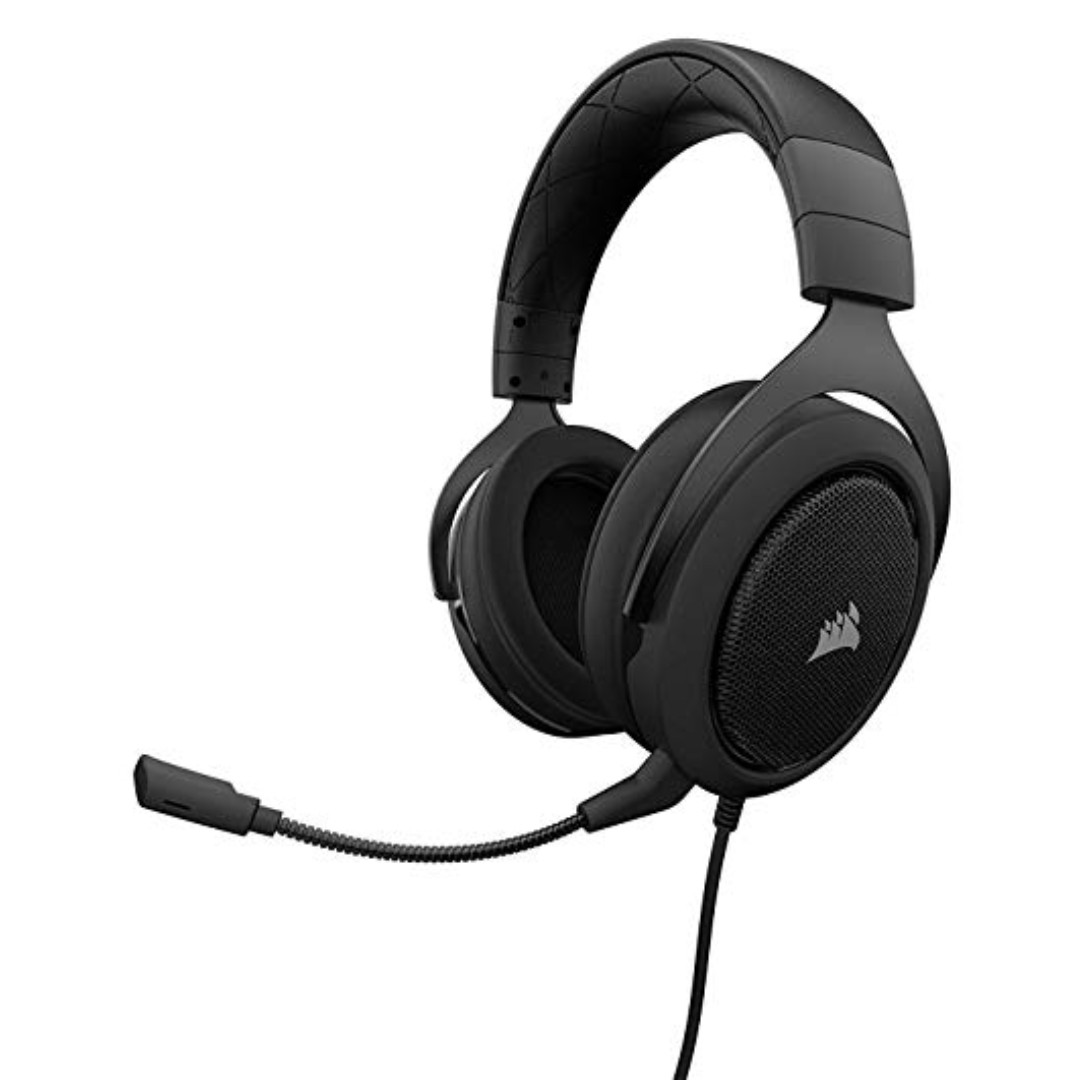 Corsair HS50 Stereo Gaming Headset — Carbon (AP) - 0 56 KG