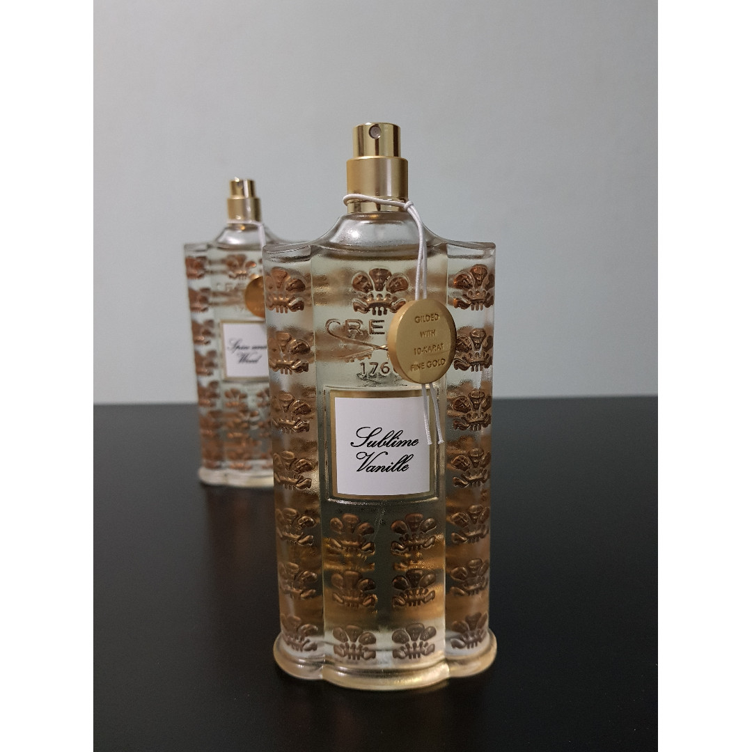 Creed Royal Exclusives Sublime Vanille Niche Perfume Decant