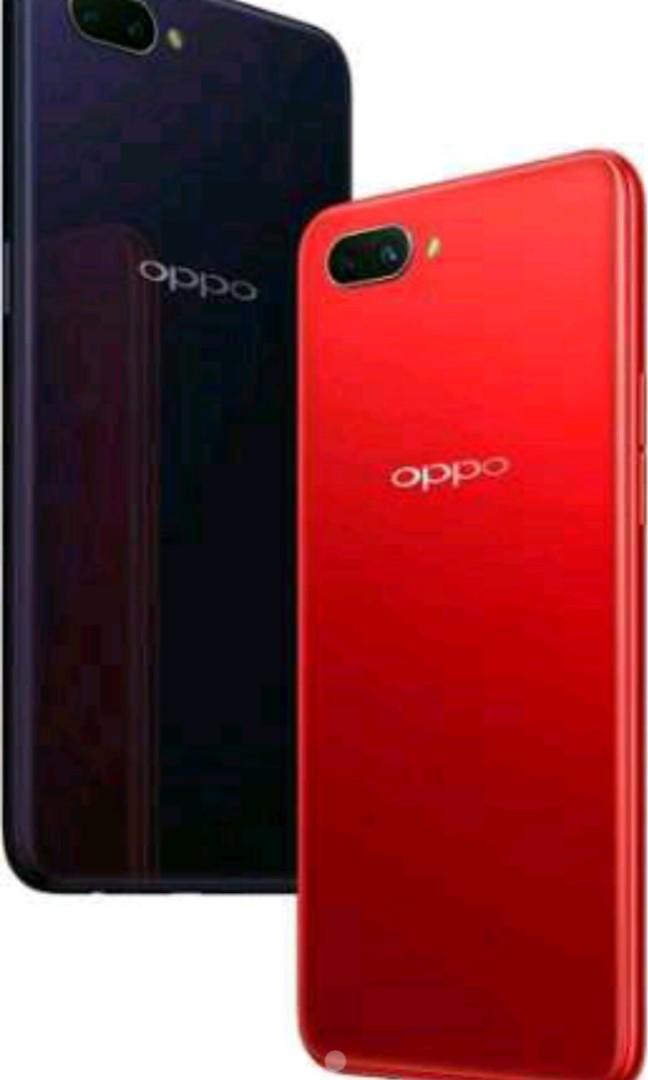 Dijual Oppo A3s Merah Ram 2 16 Gb Mobile Phones Tablets On Carousell
