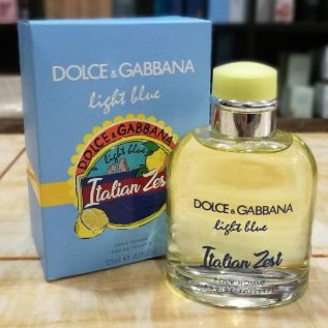 4fa471a2 dolce & gabbana light blue italian zest, Health & Beauty, Perfumes ...