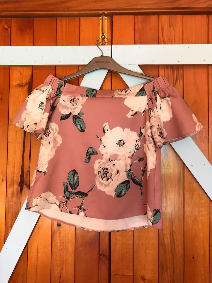 Dottie off shoulder top