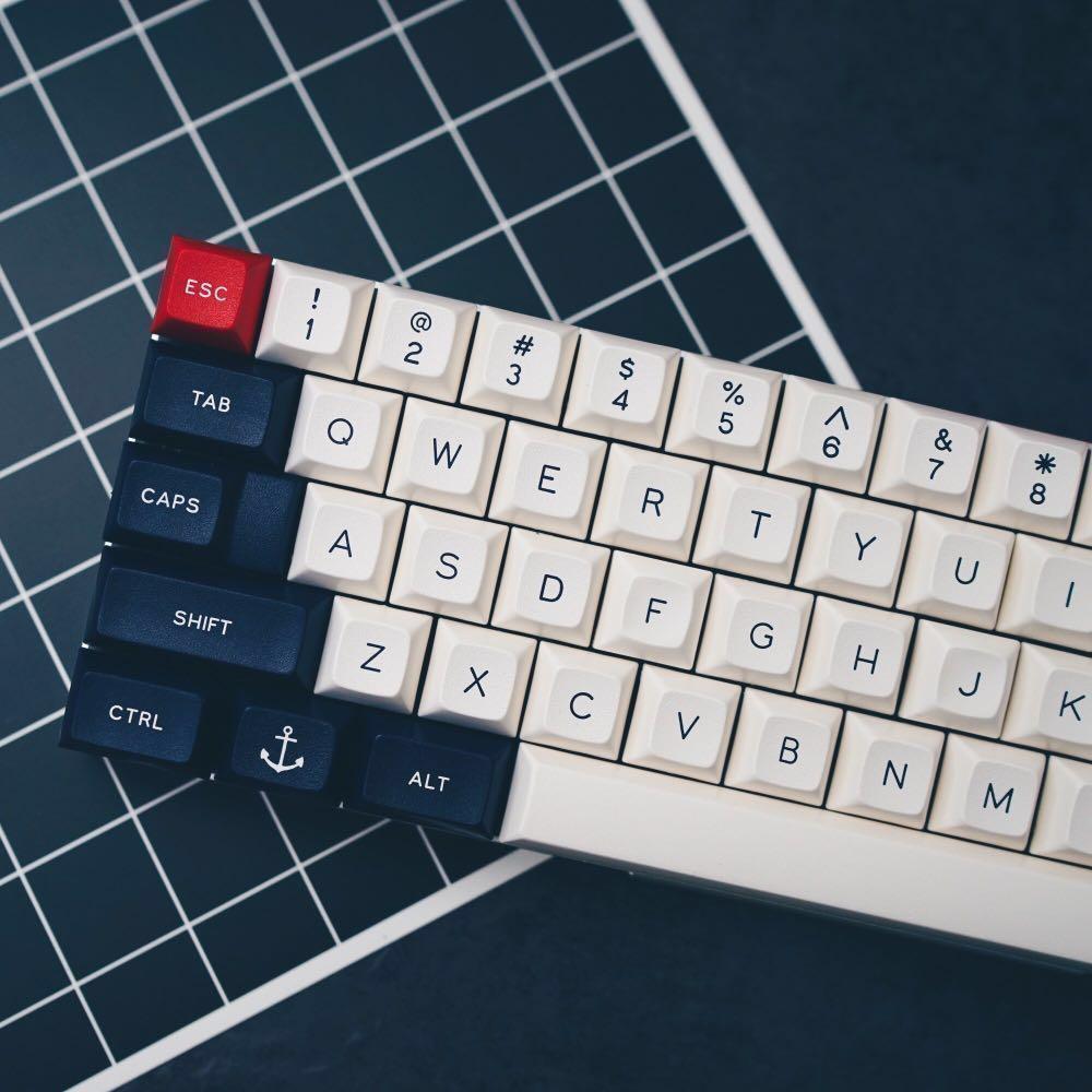 DSA Royal Navy Round 2 keycaps, Electronics, Computer Parts