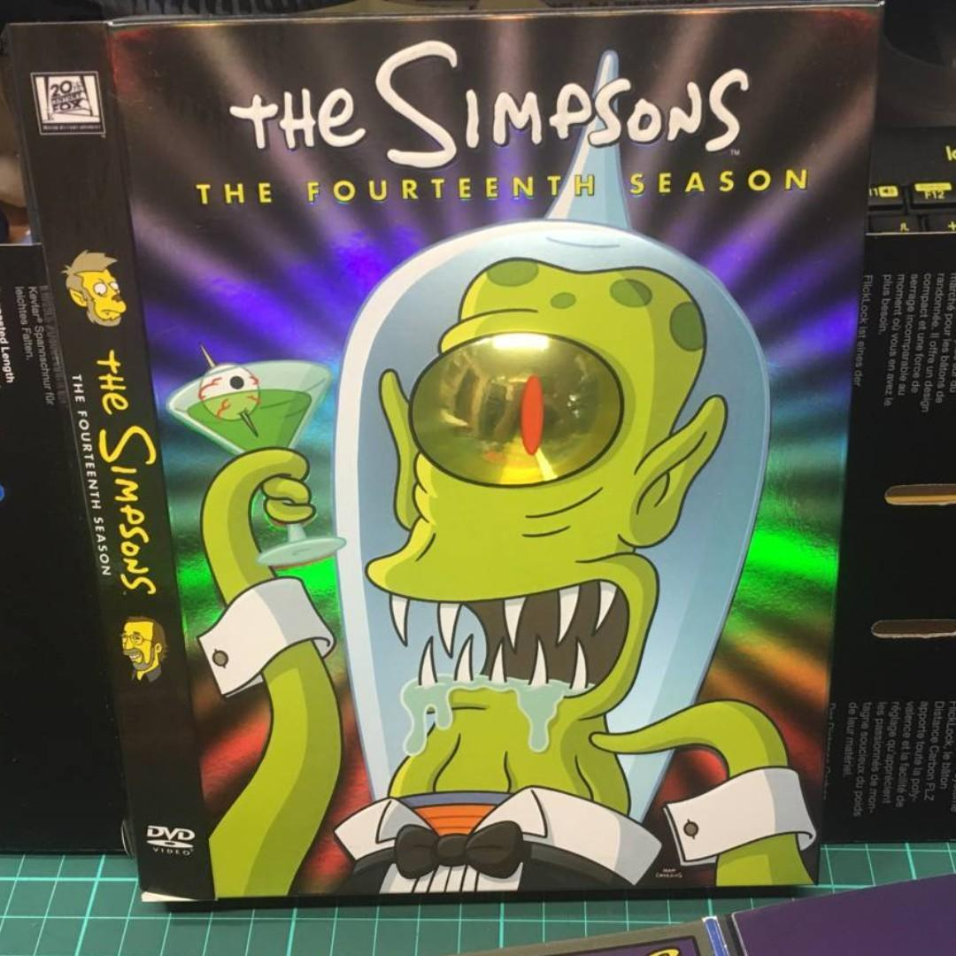 DVD 二十世紀霍士 - SIMPSONS (SEASON 14) 阿森一族 (第十四季)