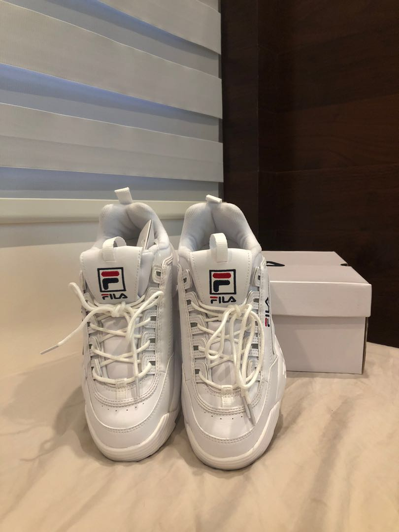 sports shoes cdabc 0fccf FILA Disruptor 2 (ORIGINAL), Men s Fashion, Footwear, Sneakers on Carousell