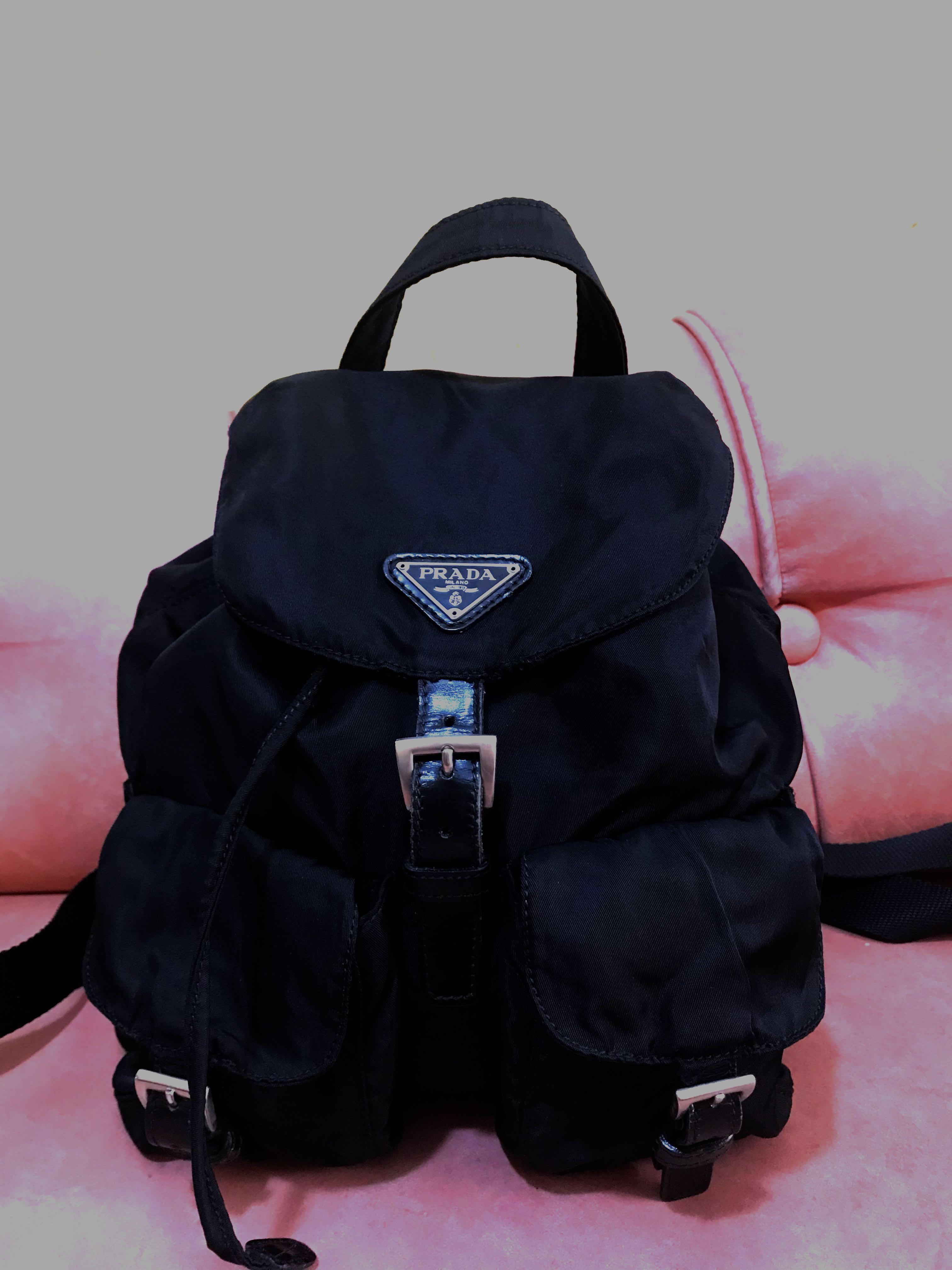567e278a41ff Flash sale! Authentic Prada Backpack, Women's Fashion, Bags ...
